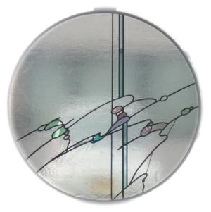 抽象ステンドグラス