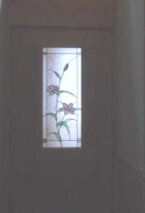 建具にステンドグラス