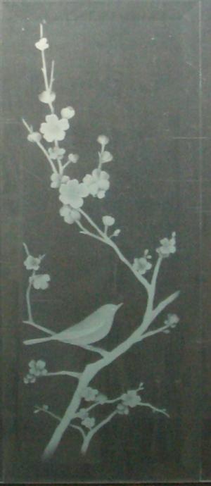 小鳥 樹 サンドブラスト2